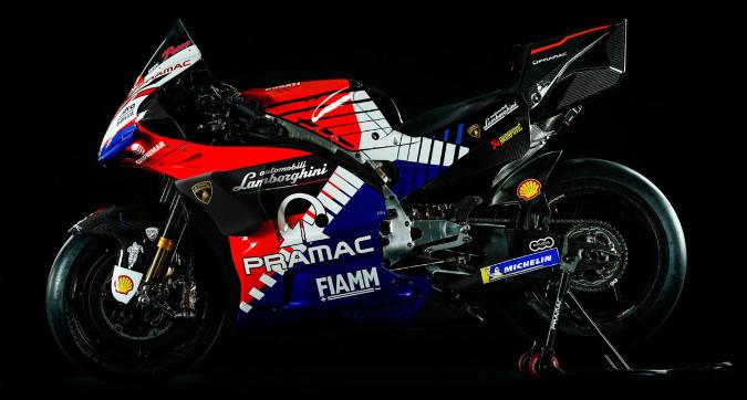 Lamborghini sbarca in MotoGP: è sponsor di Pramac