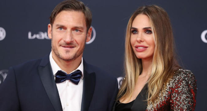 """Ilary Blasi e l'addio di Totti alla Roma: """"Gli farà bene"""""""