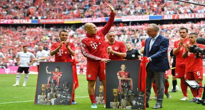 Arjen Robben lascia il calcio: