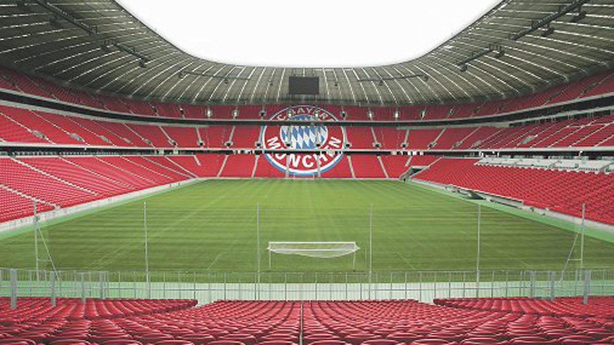 L'Allianz Arena di Monaco