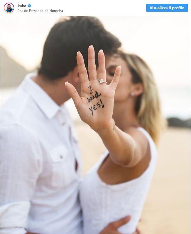 Milan, Kakà nuovamente sposo: l'annuncio arriva via social