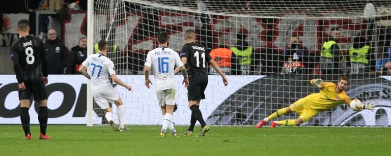 Eintracht-Inter, le foto del match
