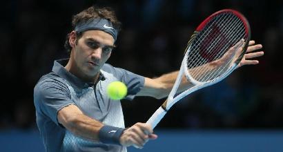 Roger Federer, Foto LaPresse