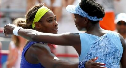 Venus e Serena Williams, foto AFP