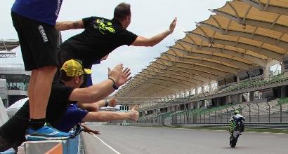 MotoGP, test Sepang: comanda Marquez, Rossi quarto