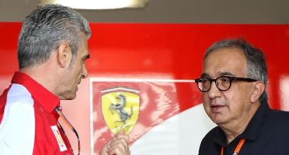 """Il rammarico di Marchionne: """"Senza quell'errore di Kimi... Chissà, Hamilton"""""""