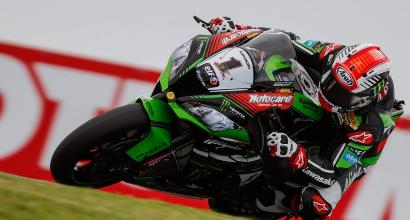 "Superbike ad Assen, Davies: ""Fortunato, stavo per cadere"""
