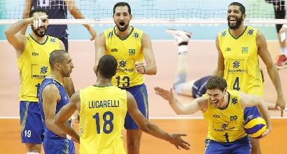 World League, Final Six: il Brasile spazza via l'Italia