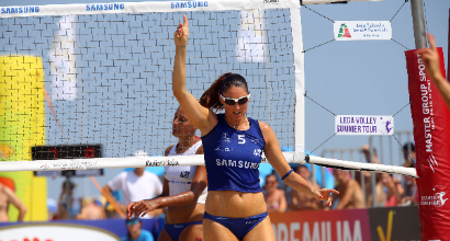 Master Group Sport Lega Volley Summer Tour: Riccione accoglie le stelle di Serie A