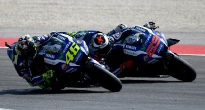 Rossi e Lorenzo (Afp)
