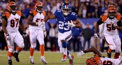 Nfl: Bengals ko, i Giants vedono i playoff