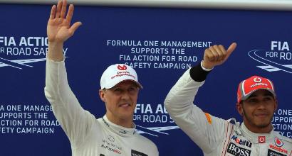 Schumacher-Hamilton, LaPresse