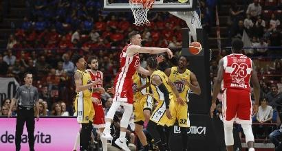 Basket, vincono tutte le big: ok Milano, Venezia e Brescia
