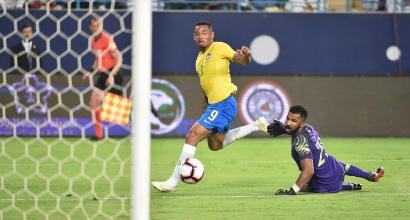 Il Brasile stende l'Arabia Saudita