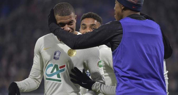 Coppa di Francia, ottavi: Psg avanti a fatica contro il Villefranche