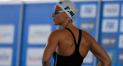 """Nuoto, Pellegrini: """"Nei 200 stile un'altra Federica non è ancora nata..."""""""