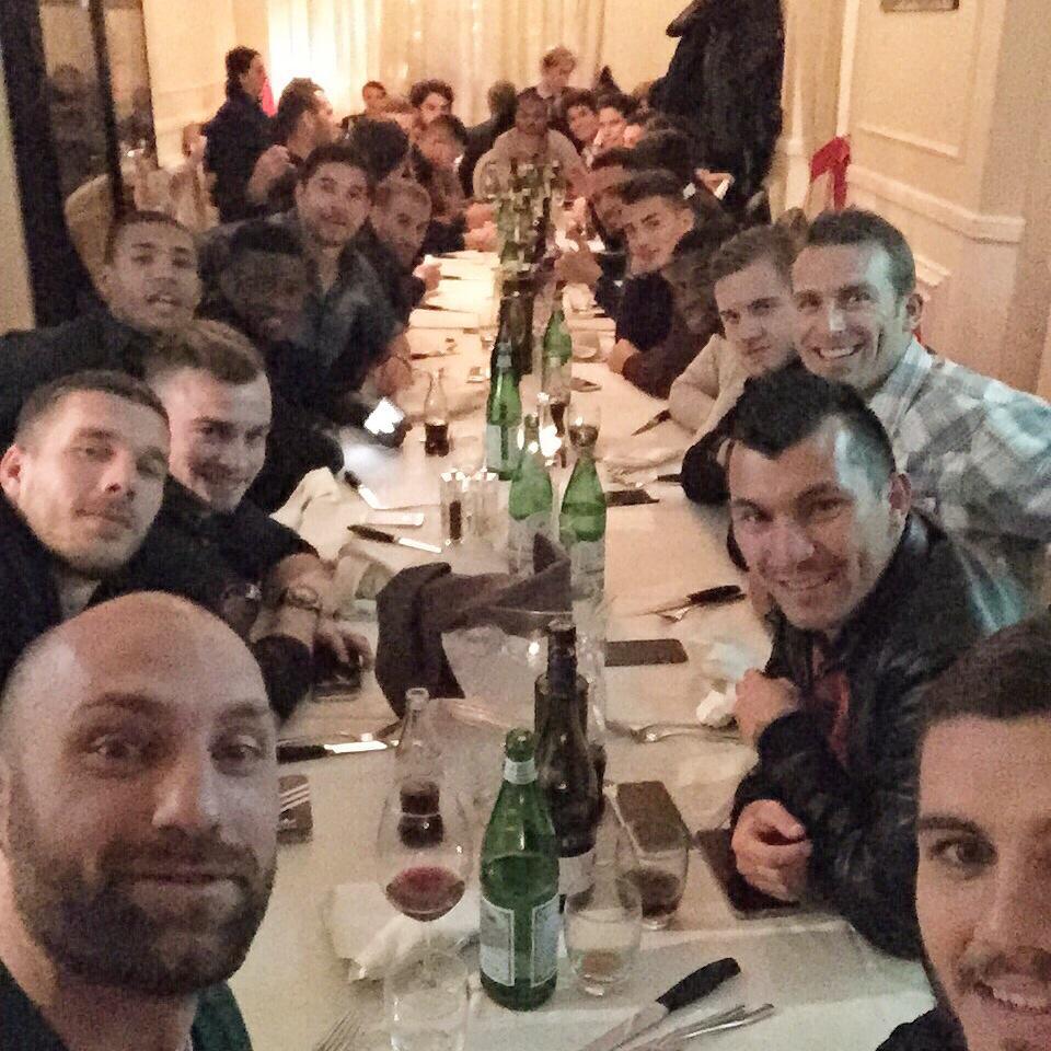 Inter, tutti a cena da Zanetti