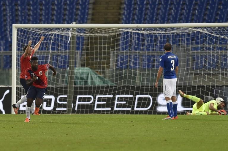 Verso Euro 2016, Italia-Norvegia 2-1: le foto