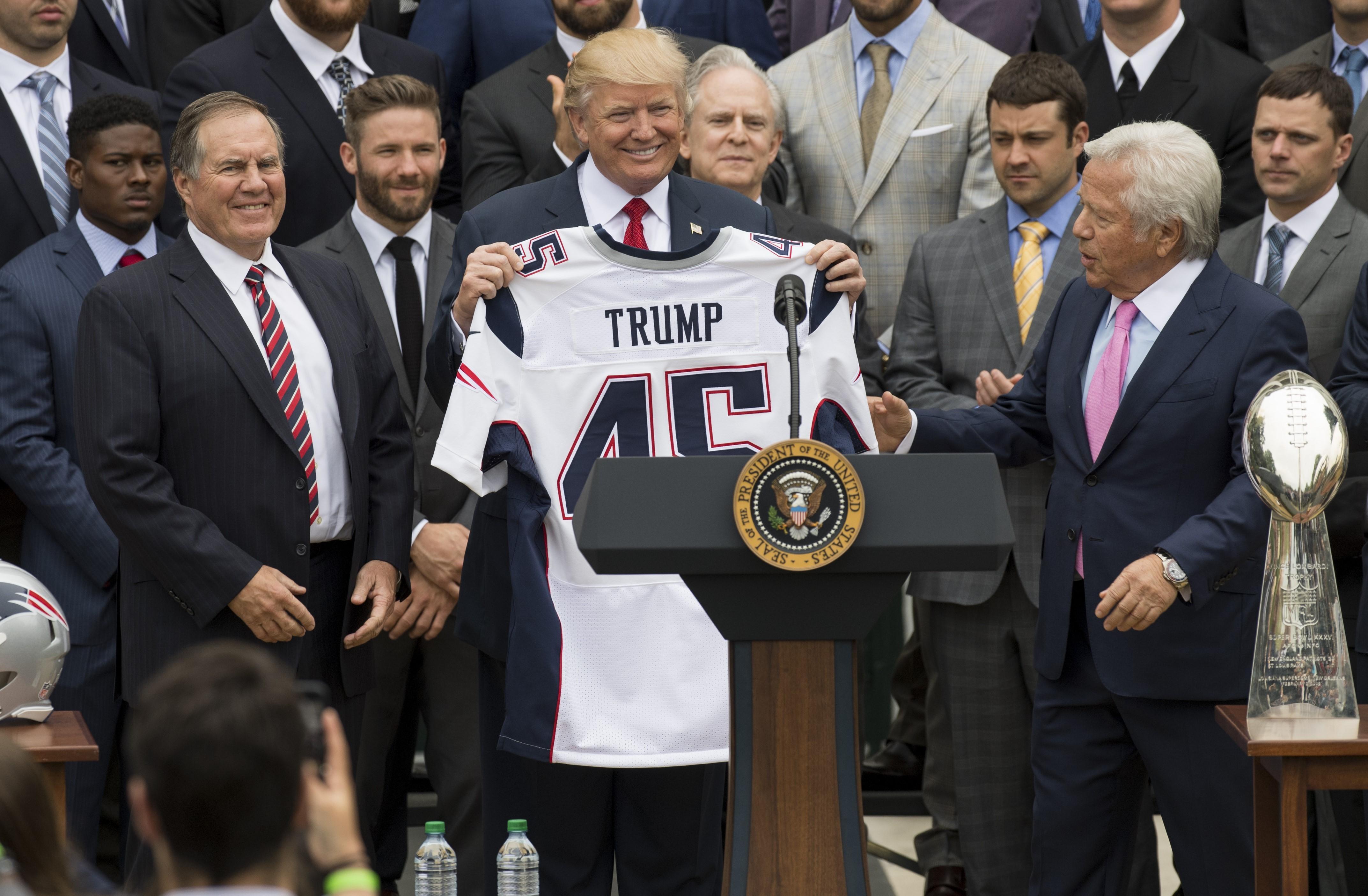 I Patriots da Trump