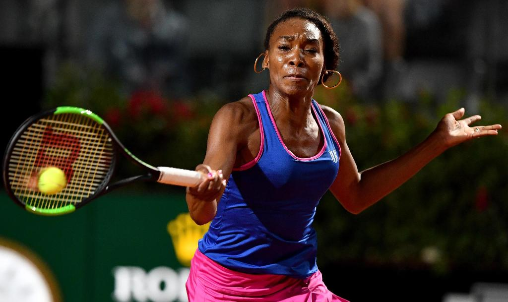Roma, Venus Williams parte bene
