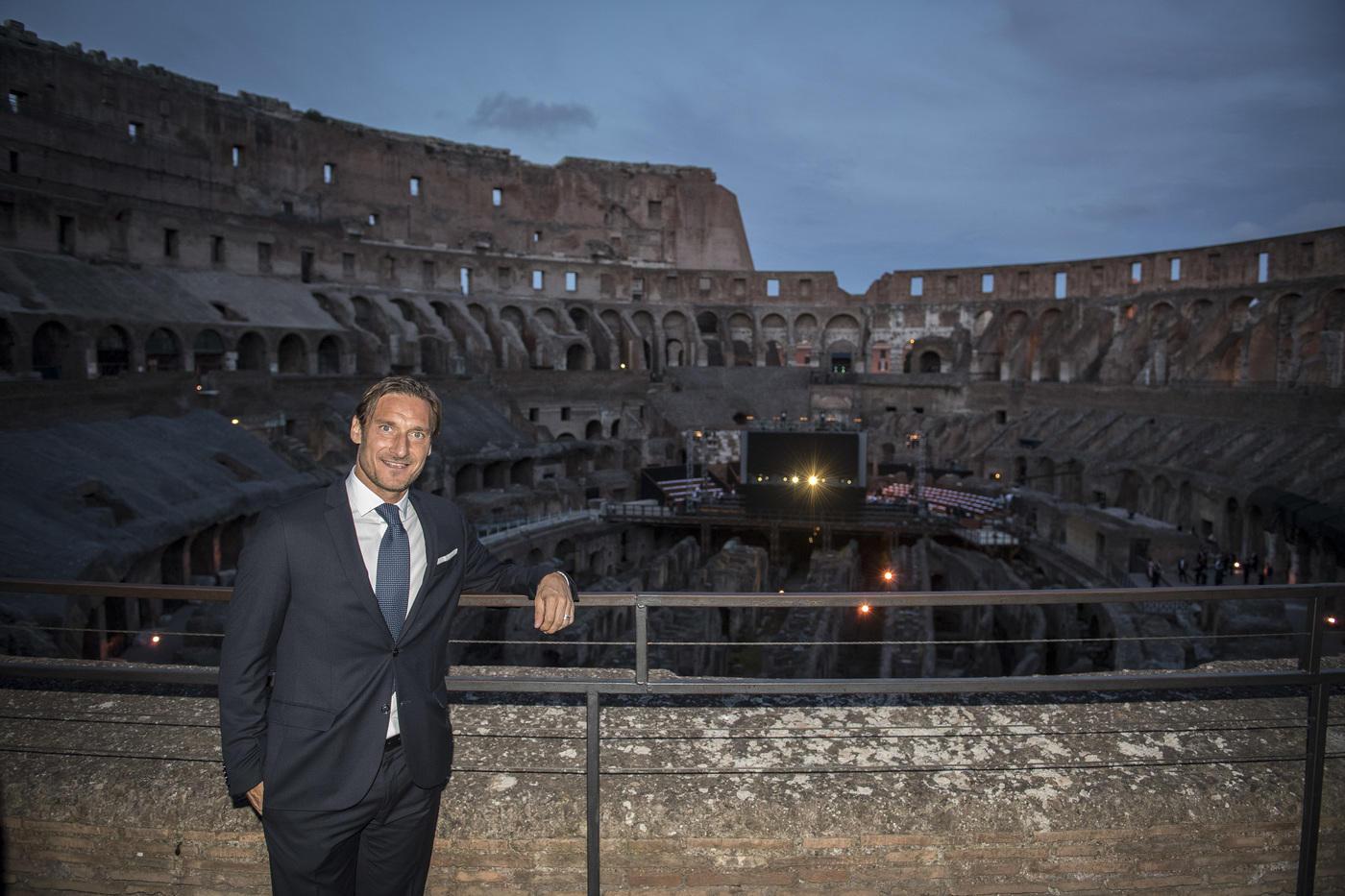 Totti da Russell Crowe: i Gladiatori di Roma
