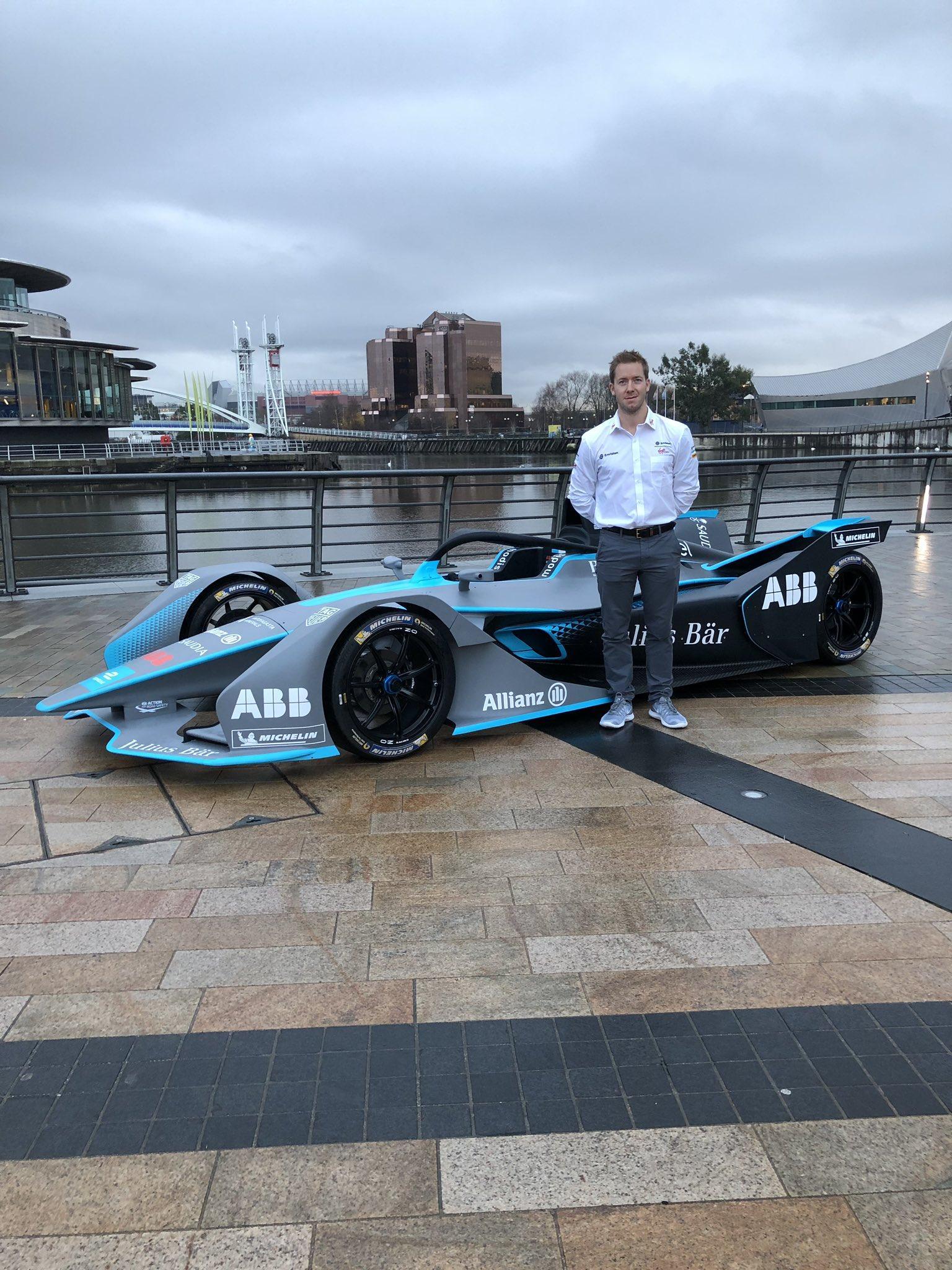 Formula E, Sam Bird a Manchester