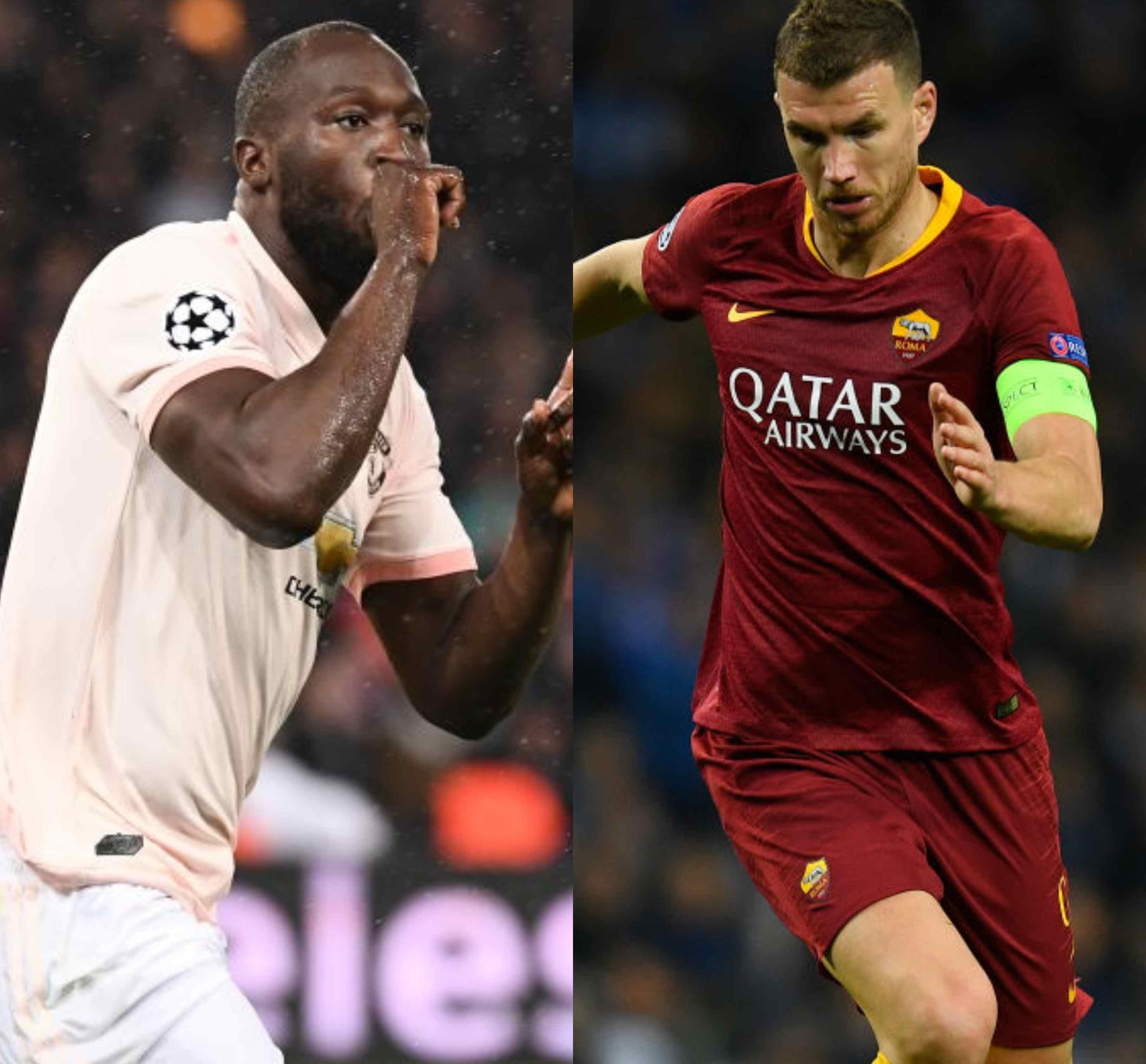 Lukaku (Manchester United) o Dzeko (Roma)