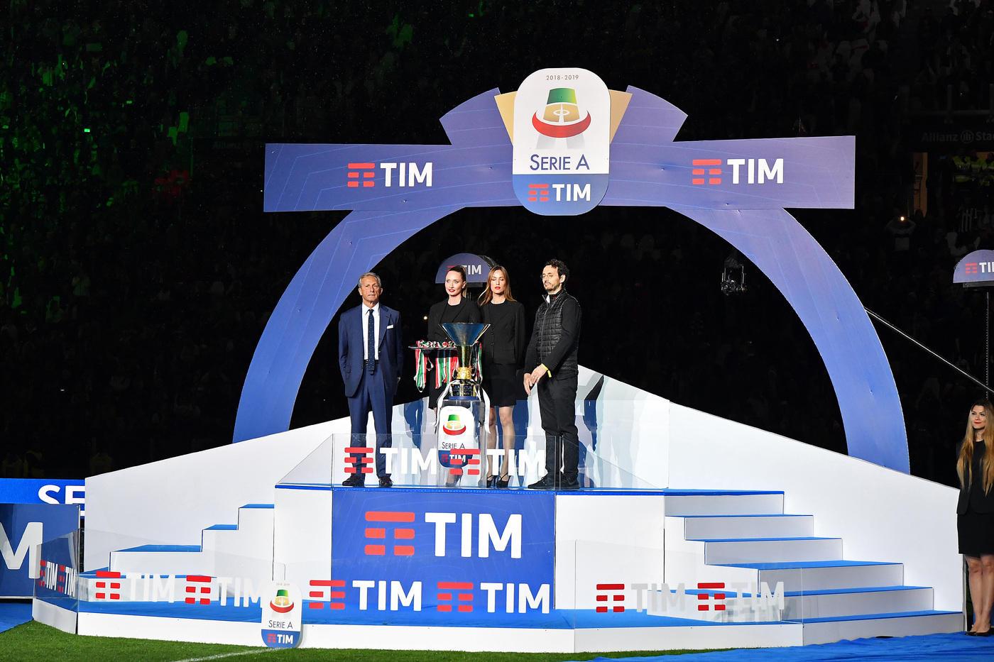 Festa per i bianconeri allo Stadium dopo il pari con l'Atalanta. Con Ronaldo che...