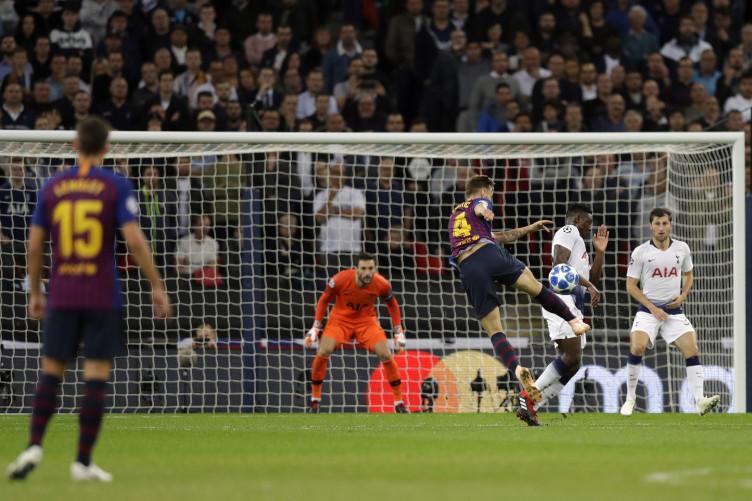 Ivan Rakitić (Tottenham v Barcelona)