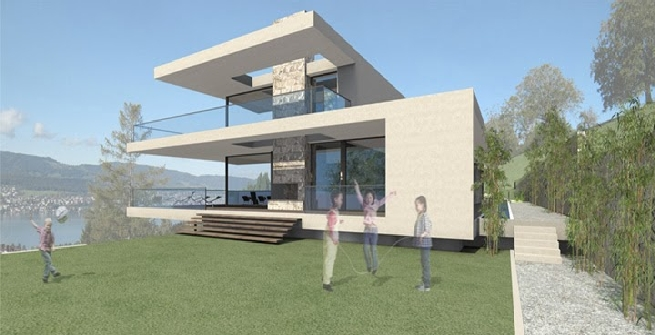 Roger Federer si costruisce un castello sul lago di Zurigo
