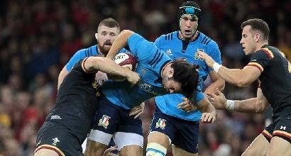Rugby, test-match: è una buona Italia, ma in Galles non basta