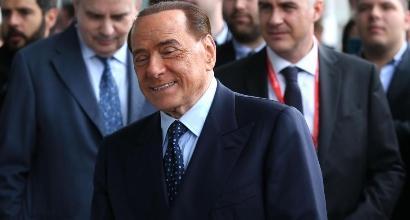 Berlusconi, foto Lapresse