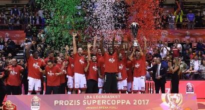 Basket, Supercoppa italiana: Theodore fa il fenomeno, Venezia va ko in finale