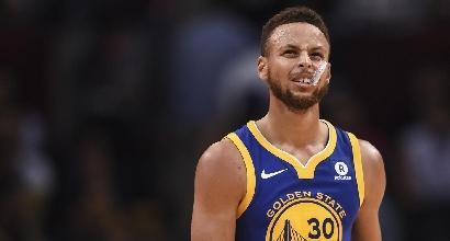 Nba: Curry da urlo, Golden State batte i Celtics