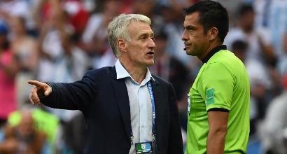 """Mondiali 2018, Deschamps: """"Sono felice"""". Mbappé: """"Non voglio fermarmi"""""""
