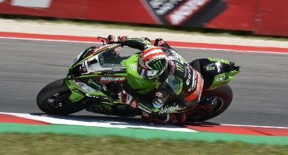 Superbike, gara-2 a Misano: Rea dieci e lode, Melandri terzo