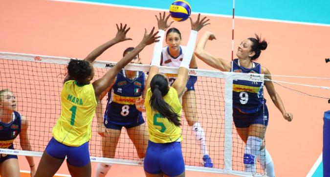 Volley, Nations League donne: troppo Brasile per l'Italia, azzurre ko in tre set