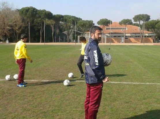 Livorno, primo giorno di lavoro per Christian Panucci