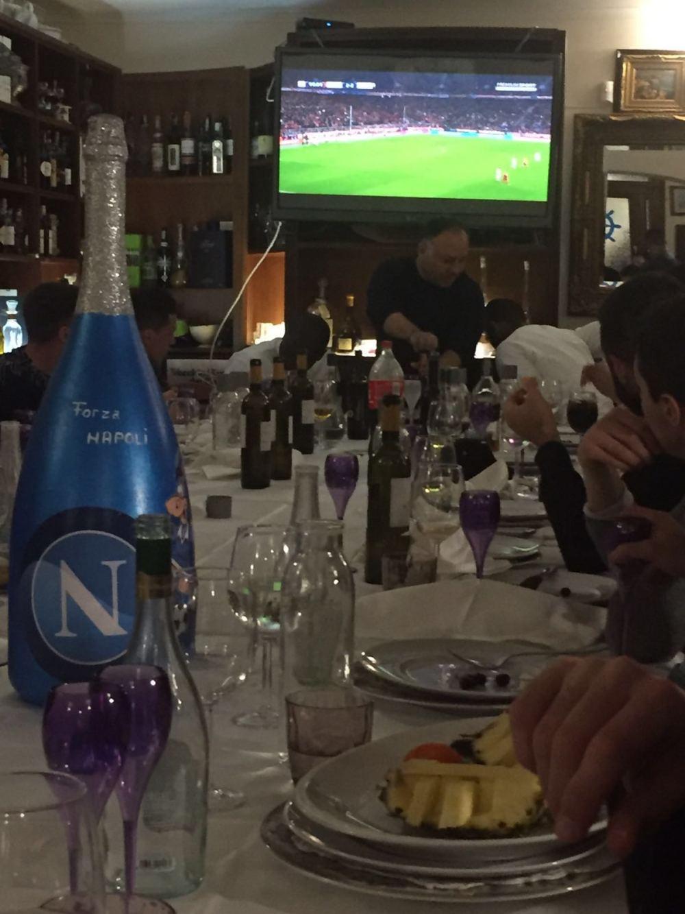 Napoli, a cena con Bayern-Juve