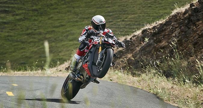 Una Ducati Streetfighter V4 per la Pikes Peak