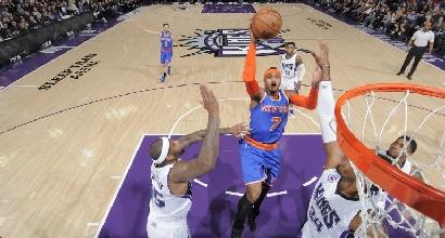Nba, a New York arriva un metro di neve: rinviate le gare di Knicks e Nets
