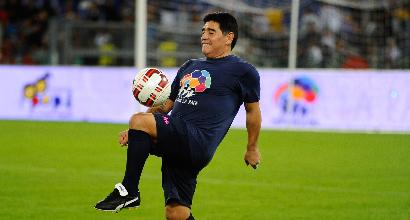 """Maradona: """"Napoli, sogno lo scudetto. De Laurentiis non mi parla. Infantino traditore"""""""