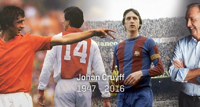 E' morto Cruyff, la leggenda del calcio totale