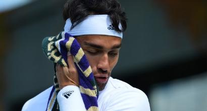 Fognini, foto AFP