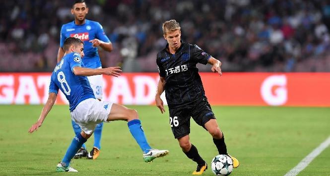 Nizza-Napoli 0-1, il gol di Callejon