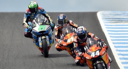 Moto2: Morbidelli 3° in Australia, vede il titolo
