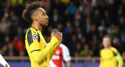 Dortmund, sospeso Aubameyang: tante big alla finestra