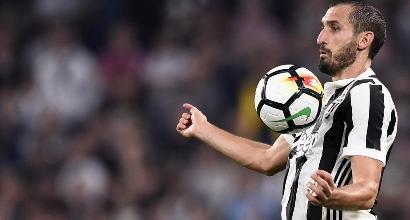 """Juve, Chiellini: """"A Napoli ci sarò. Perdere sarebbe pesante"""""""