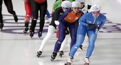 Pyeongchang 2018: pattinaggio velocità, Lollobrigida solo settima