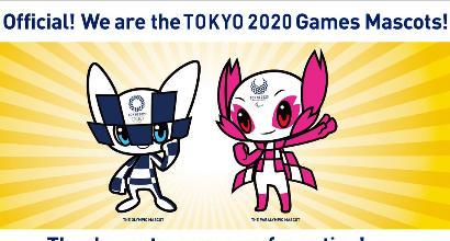 Tokyo 2020, ecco le due mascotte ufficiali delle Olimpiadi